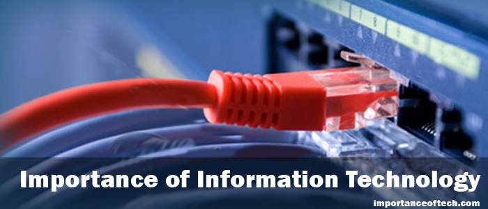 essay on importance of information communication technology Information technology and the role it plays in business 'it is the twenty first century and it is embracing itself with information and communication technology as.