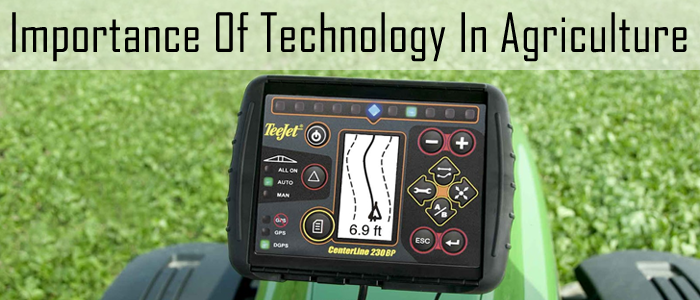 importance of technology in agriculture my essay point