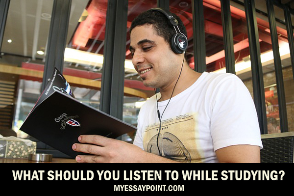 What should you listen to while studying?
