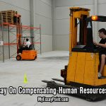compensating human resources