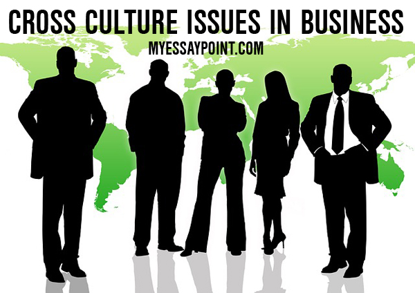 Cross cultural issues in business