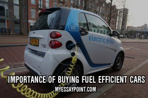 essay on fuel efficient cars