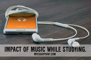 impact of music on studies