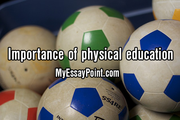 physical education importance