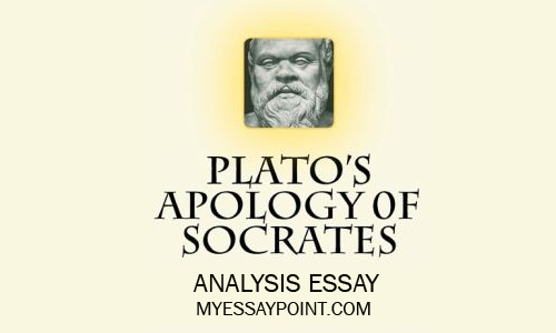 "an introduction to the analysis of apology by plato Reaction to ""the apology"" by plato ""the apology"" by plato has a significant and direct bearing on modern western civilization because it places virtue and honor on a pedestal and urges men to live righteously and be willing to die for the sake of righteousness if necessary."