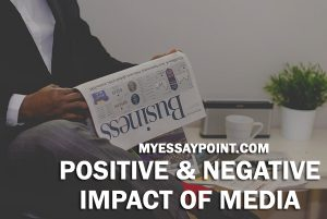 positive negative impact of media