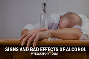 signs bad effects alcohol