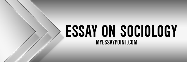 Essays on sociology