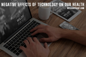technology's negative effects on health