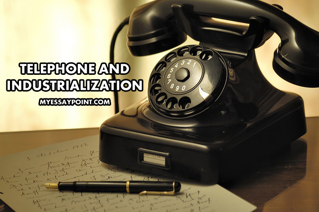 telephone and industrialization