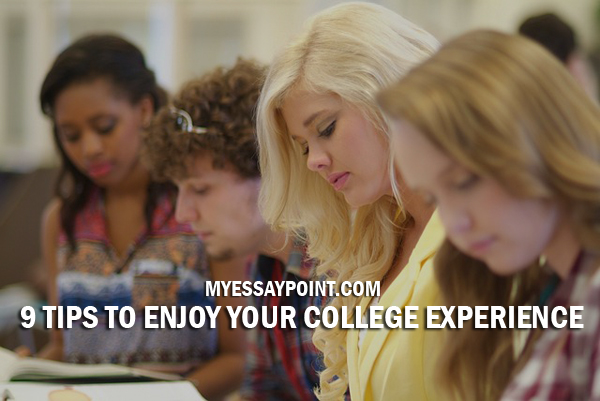 tips to enjoy college