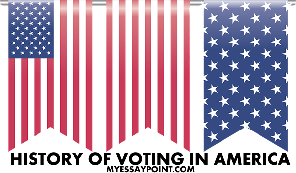 History of Voting in America and who participated?